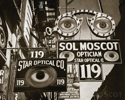 FRAMED Moscot Shop at 119 Orchard, New York 1932