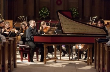 Stephen Devine and the Trinity Laban Chamber orchestra Haydn Creation Image - resized for website