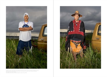 Main Image credit: photo diptych from The Edward Curtis Project by Rita Leistner