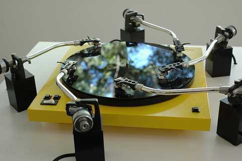 Yuri Suzuki Prepared Turntable (2008)