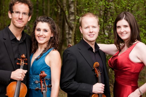 Carducci Quartet, courtesy of Andy Holdsworth photography