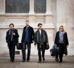 Image: Piatti Quartet, courtesy of Dipesh Soneji and Benjamin Harte