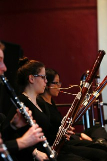 Trinity Laban Wind Orchestra, courtesy of JK photography