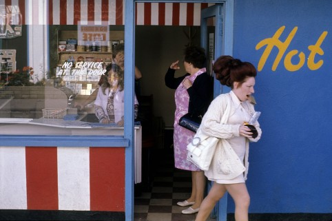 Image credit: Daniel Meadows - Butlin's Filey, Yorkshire, 1972.