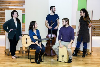 Maria Camahort Quintet. Image courtesy of Guildhall School of Music & Drama
