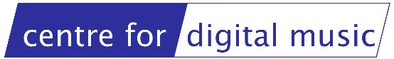 centre for digital music logo no background
