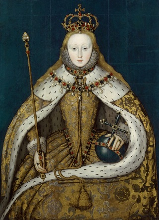 Queen Elizabeth I by Unknown English artist, oil on panel, circa 1600